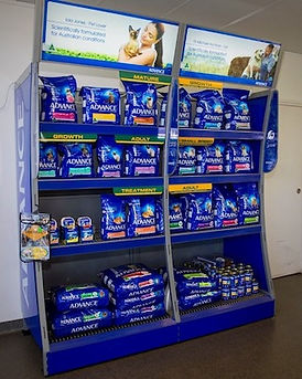 We stock the latest pet care products and can usually order a supply within 24 hours.