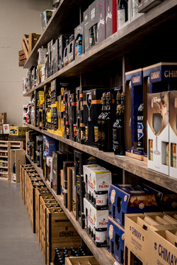winkelinrichting Bevernagie Drinks