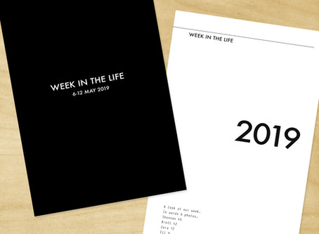 Week In The Life 2019 + Template Process Video