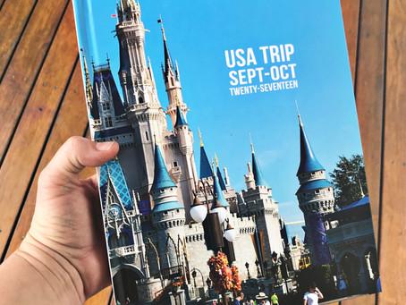 USA2017 Travel Book