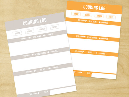 Free Cooking 3x4 Journal Card PDF