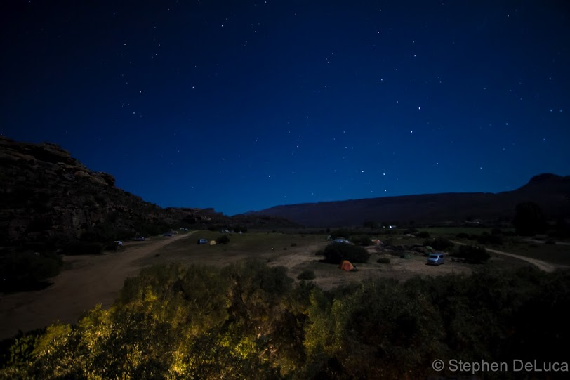 Starry African Sky