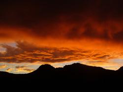 enjoy a Cederberg sunset,  Rocklands