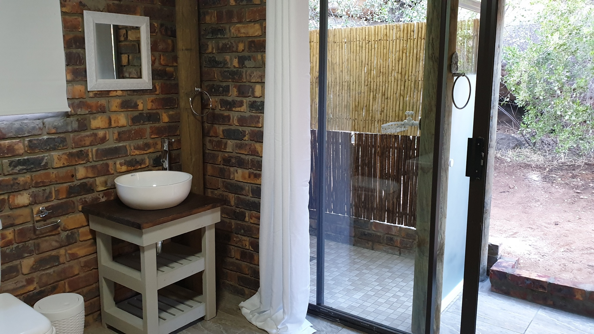 Schaapkraal shower/bathroom