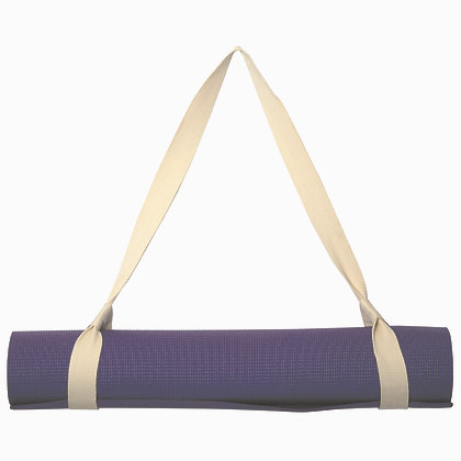 Lotus Cotton Yoga Mat Strap