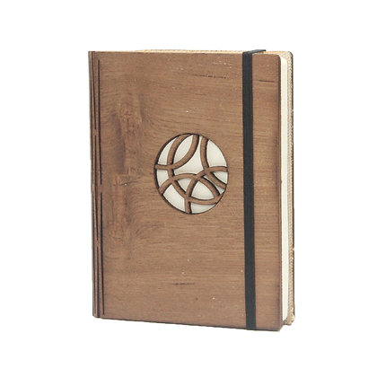 Small Wooden Journal