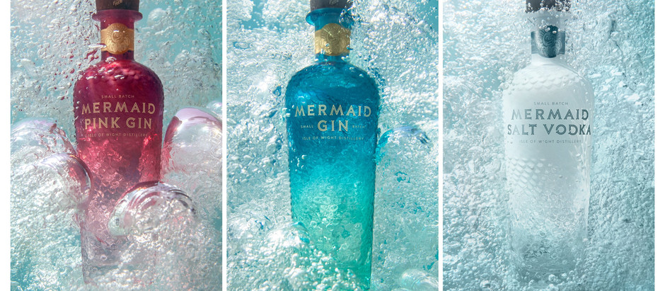 Plastic Free, 100% Recyclable Mermaid Gin available in Hong Kong