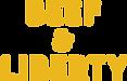 Beef & Liberty Logo