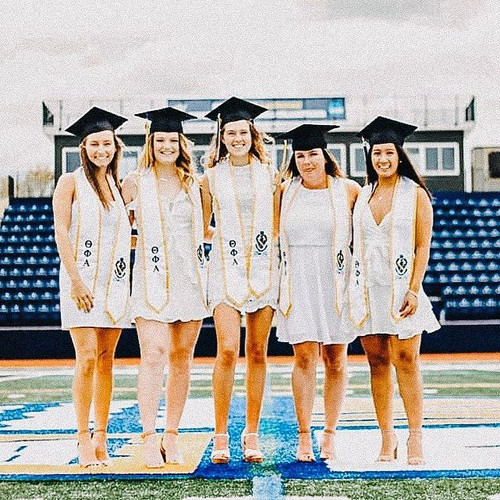 Some of our graduating seniors 2019