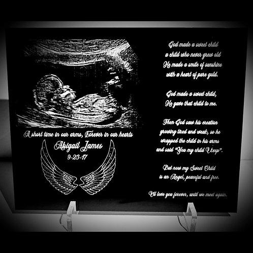 Black Memorial Plaque