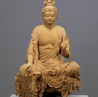 京都府宝菩提院蔵 菩薩半跏像 模刻