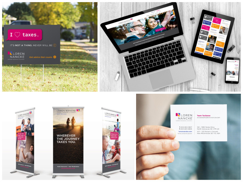 Brand refresh, website, signage and advertising