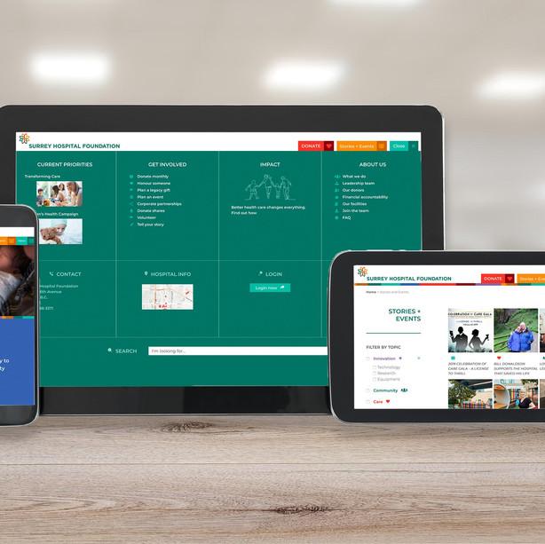 Brand refresh & website