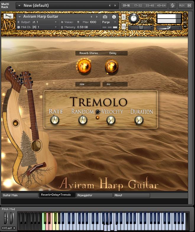 Reverb+Delay+Tremolo