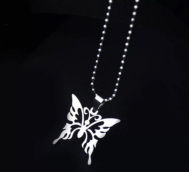 Gothic Butter Necklace