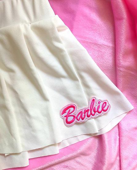 Bubble Baby Mini Skirt - White
