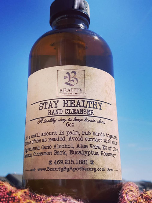 STAY HEALTHY -Hand Cleanser