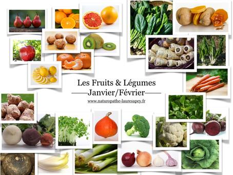 Cuisinez de saison, découvrez les fruits & légumes du mois Janvier
