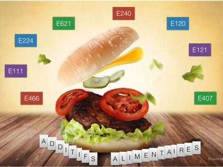 Limitons les additifs alimentaires dans notre assiette et celle de nos enfants