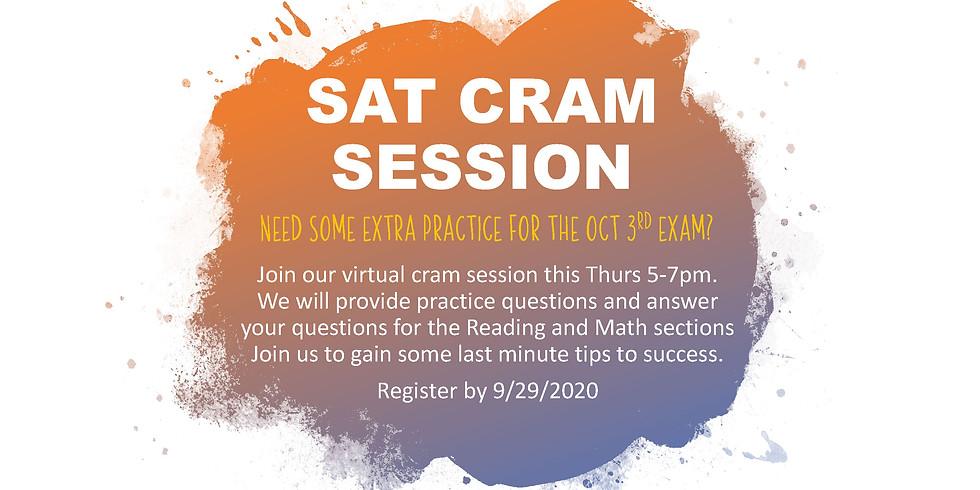 SAT Cram Session