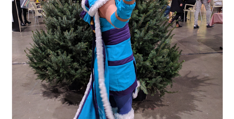 166472** Crystal Maiden from Dota 2