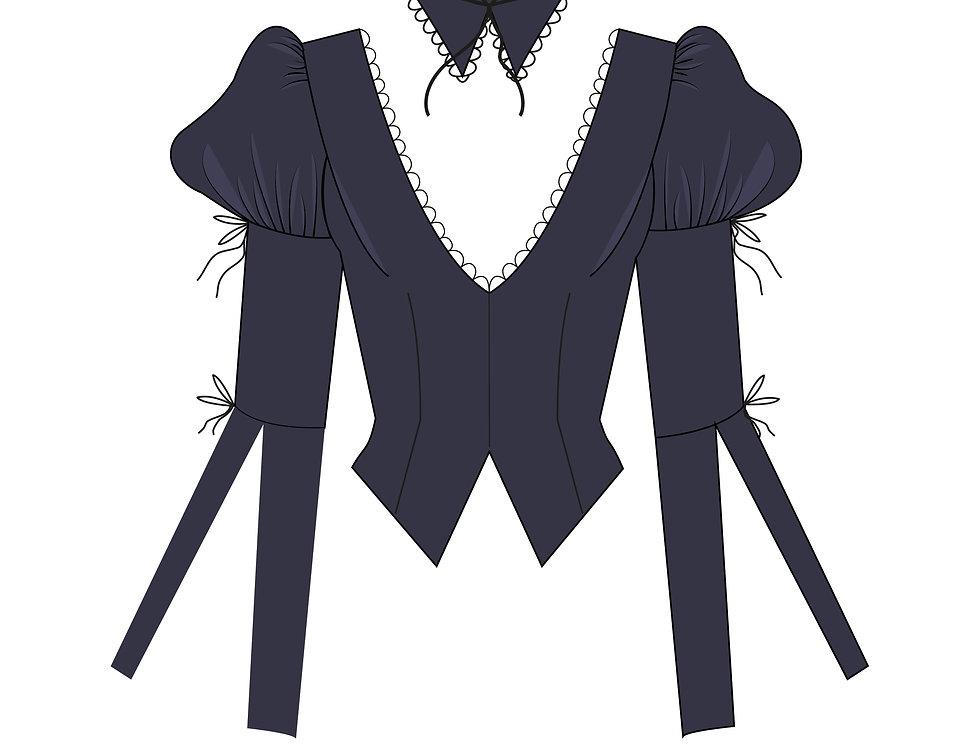166450 ** Jacket Suigintou from Rozen Maiden