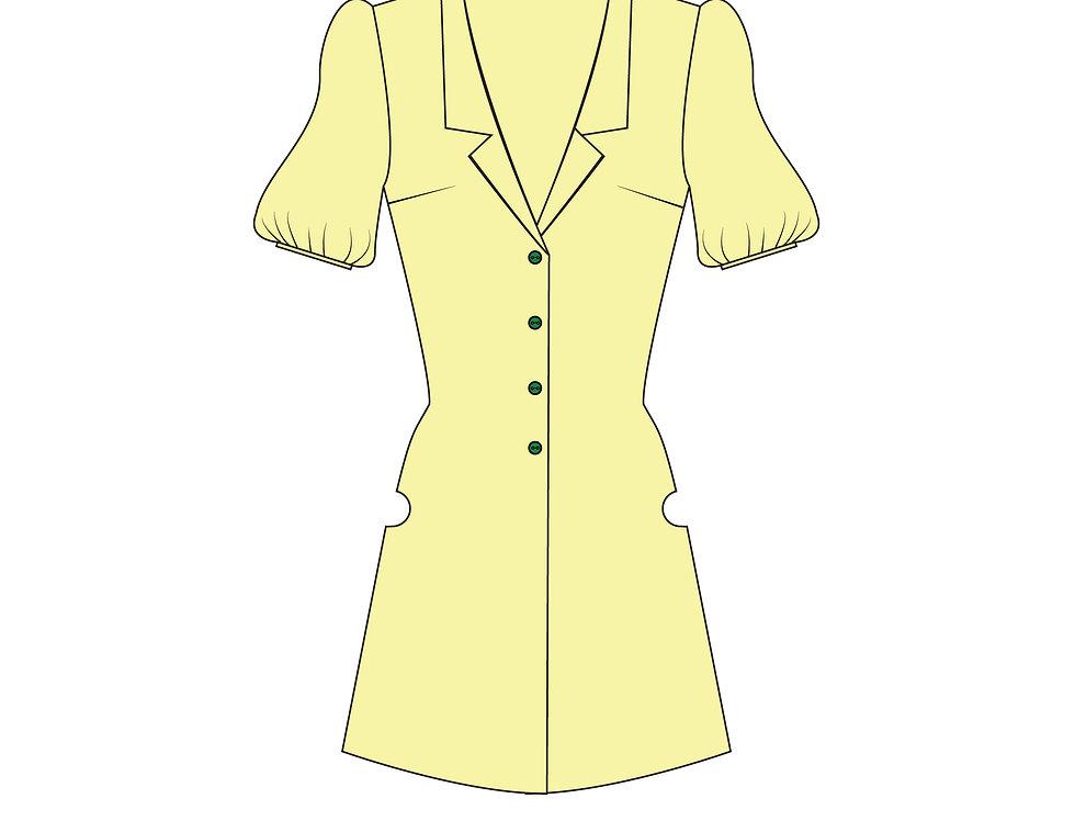 166428 * Kamikaze Kaitou Jeanne school apron.