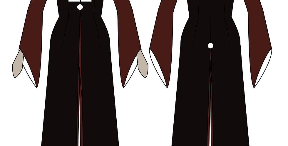 216810 ** Mai's Jumpsuit kostuum uit Avatar: The Last Airbender.