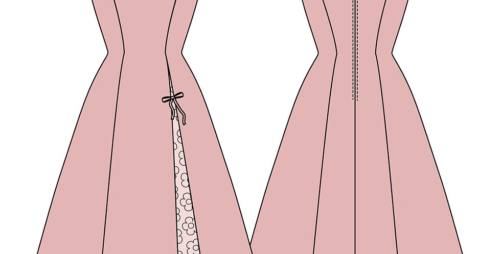 196690 * Vintage jurk.