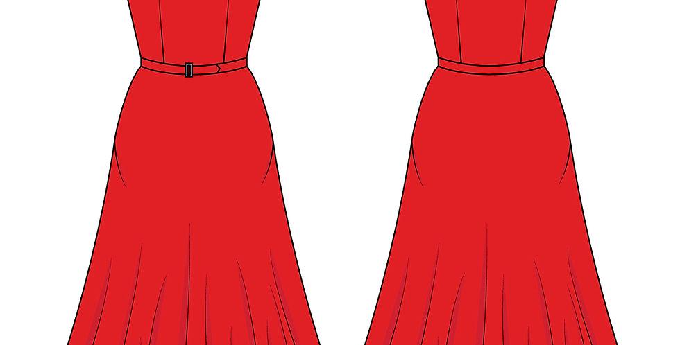 196775 * Zomer jurk.