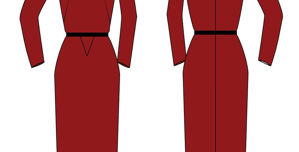 196688 * Vintage jurk.