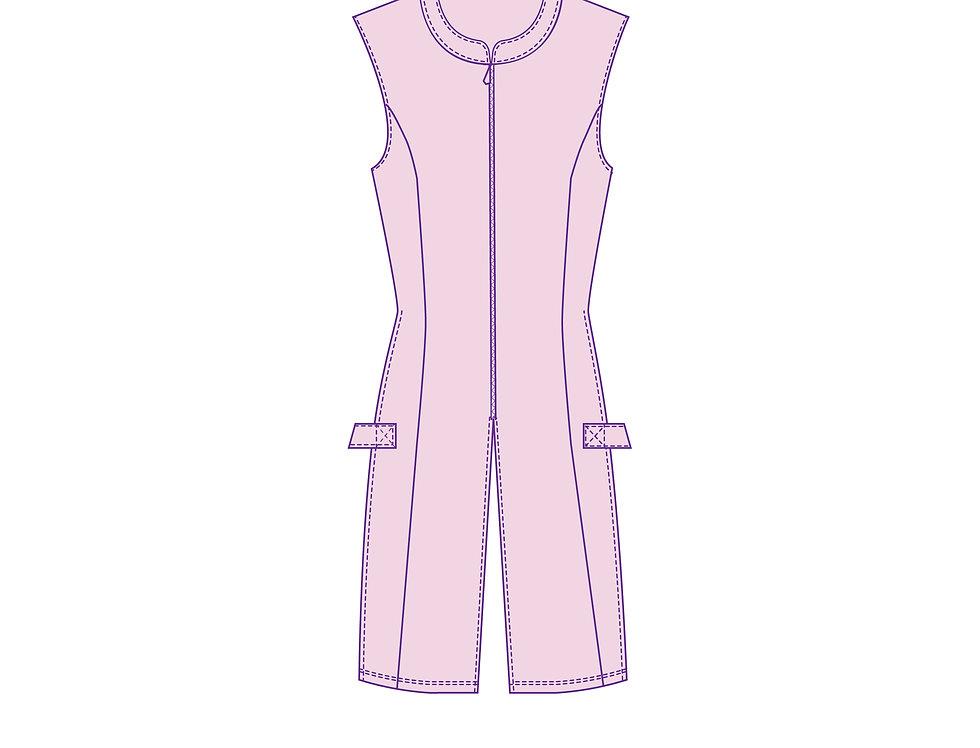 166433 * Sakura Haruno jurk.