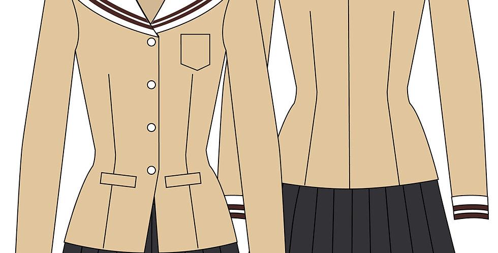 206794 ** Winter school uniform Clannad.