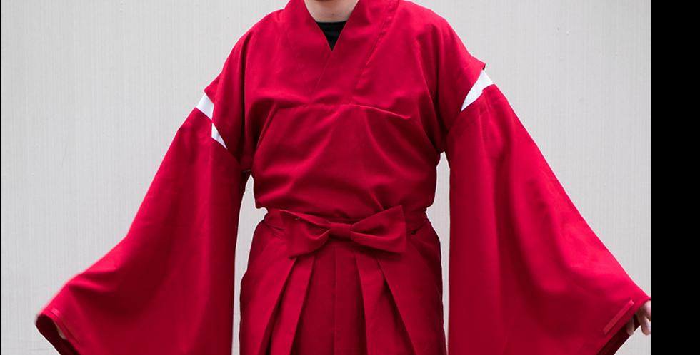 135997 ** Variation Samurai blouse Inuyasha.