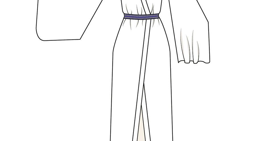 166445 * Kimono bloes Kokkuri-san uit Gugure.