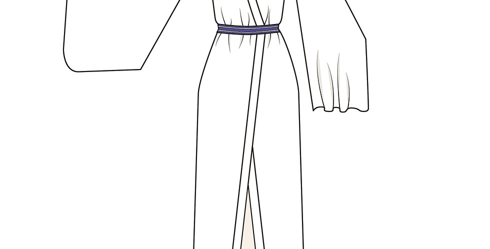 166445 * Kimono blouse Kokkuri-san Gugure