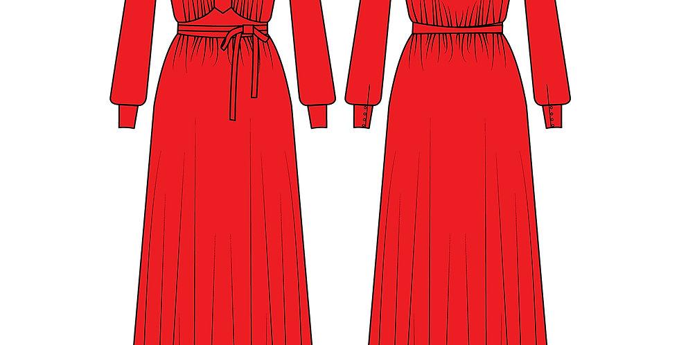 196772 * Vintage jurk.