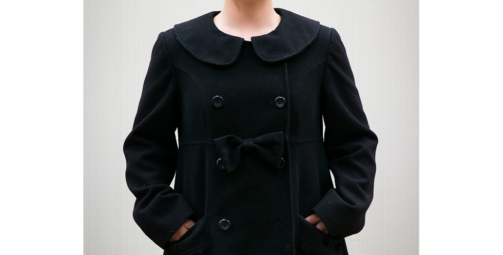 125845 ** Coat with bow.