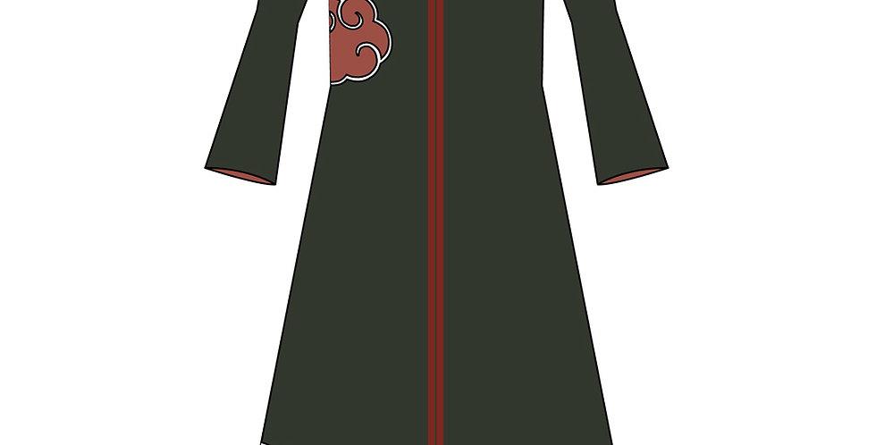 176519 ** Akatsuki uit Naruto jas met capuchon