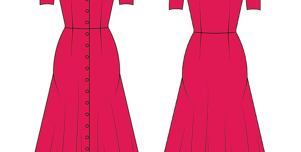 196774 * Vintage jurk.