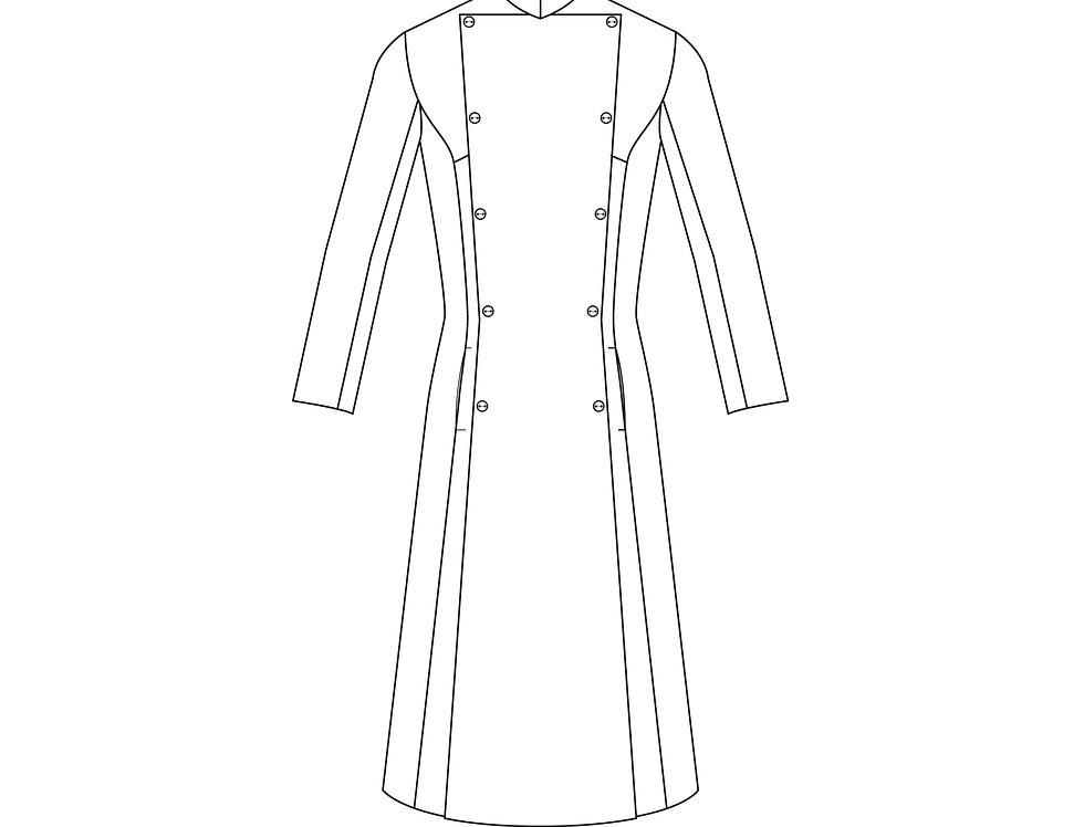 196685 ** Lady Grammaton Cleric coat