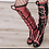 Thumbnail: 36256: Harley Quinn boot cover and glove.