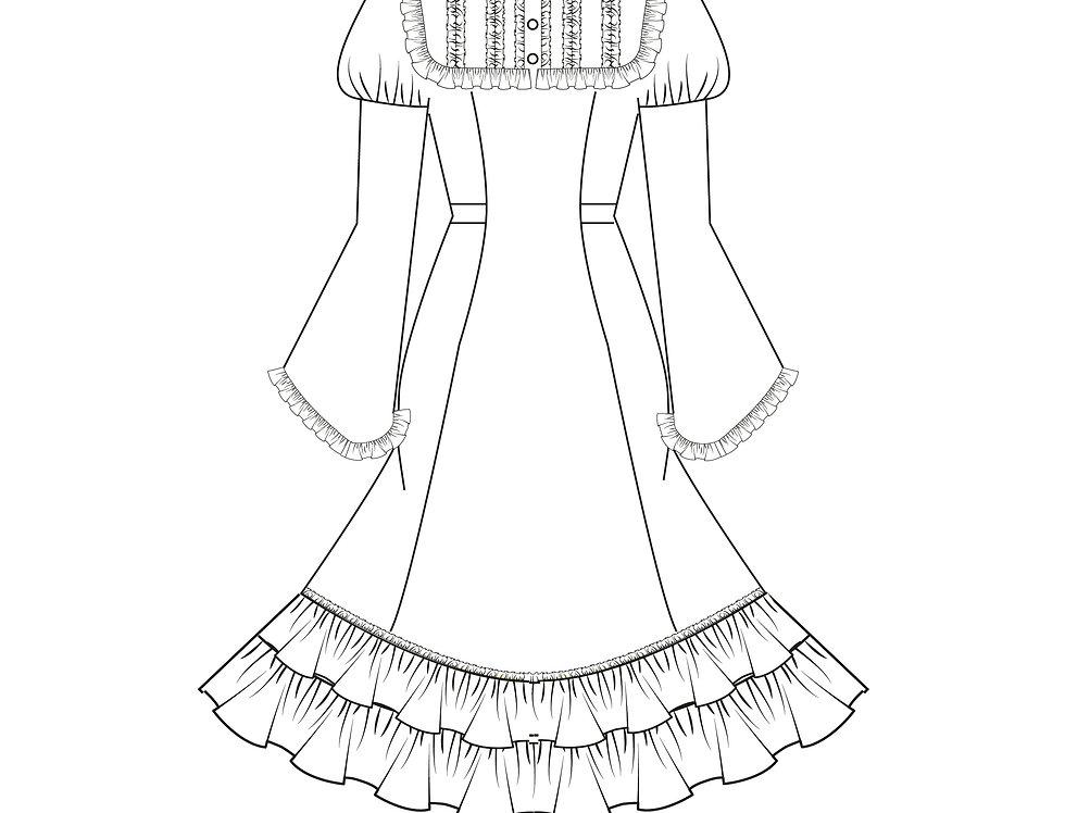 166451 * Lolita jurk.