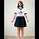 Thumbnail: 136036 * Short school uniform blouse
