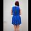 Thumbnail: 136037 *  Blauw zonne jurkje.