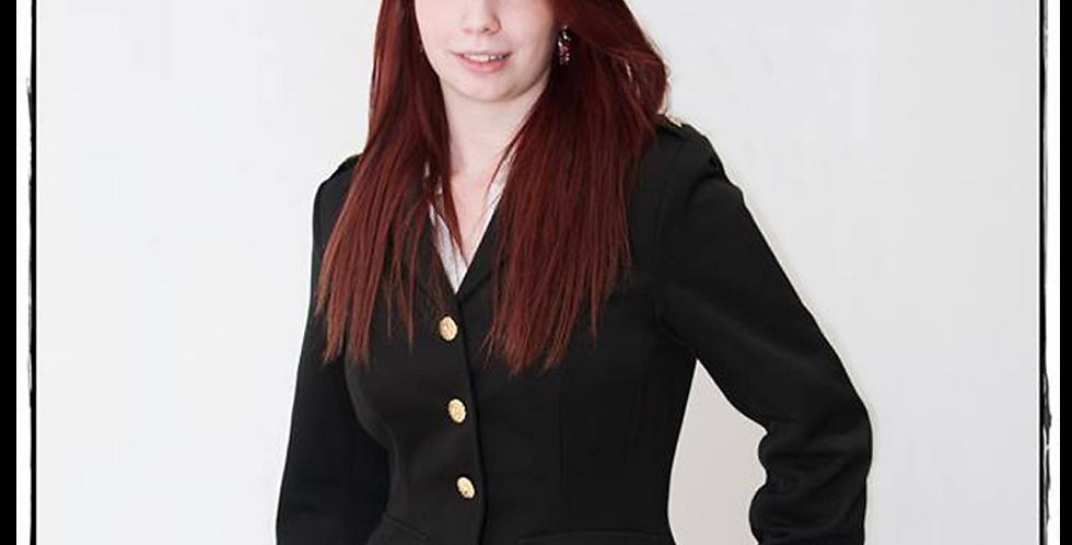 146262 ** Ladies military gala jacket.