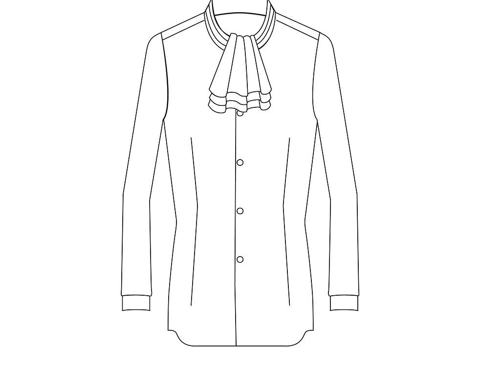 166397 * Overhemd Miles Edgeworth.