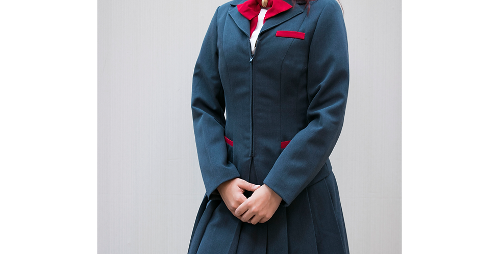 125870 *** Bleach dames schooluniform.