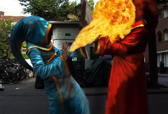 125874 * Magicka men wizard coat.