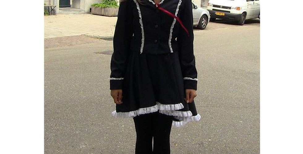 126041 **  Lolita school uniform.